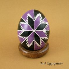 Pysanky Pisanki Ukrainian Polish Easter Egg by JustEggsquisite, $20.00