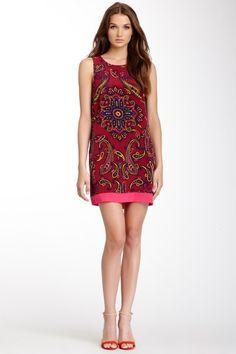 Sleeveless Combo Dress by Madison Marcus on @HauteLook