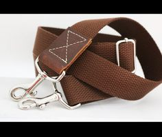 1.25 in wide  adjustable cotton webbing by NaturaleAccessories