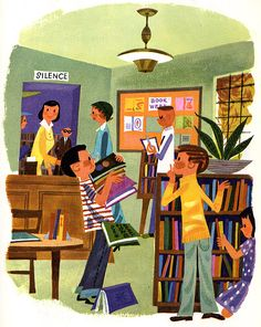 https://flic.kr/p/5zoTd | Billy's Neighbors | Another school text from Follett Publishing, 1957. Authors are Alta McIntire and Wilhelmina Hill. Illustrations by Janet LaSalle.