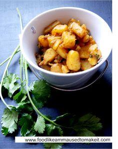 Potato Curry Recipe - Food like Amma used to make it