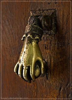 vintage door knocker