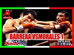 LA RIVALIDAD MEXICANA MAS EPICA ▬ BARRERA VS MORALES 1 HIGHIGHTS Mexican Boxers, Tv, Youtube, Wrestling, Sports, Movies, Movie Posters, Boxing, Mexican