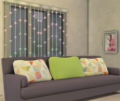 My Sims 4 Blog: Lora Curtains Recolors by StoryTellerSims