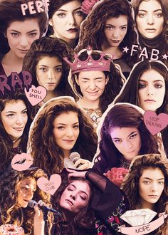 Lorde collage