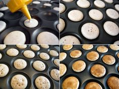 Poffertjes (little Dutch pancakes). Learning how to cook like a real Dutch girl... Yum!!