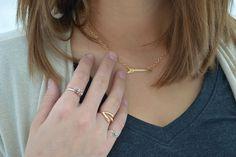 Rachel Sayumi: A Fashion and Lifestyle Blog // Rachel is wearing a darling arrow necklace from Jane.com! #veryjane