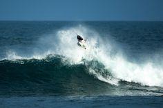 John John's perfect 10 maneuver at the Rip Curl Pro Bells Beach.