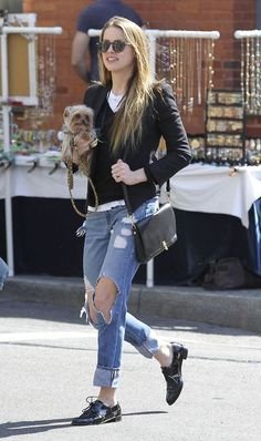 Amber Heard in New York