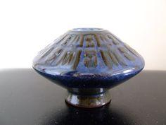Michael Andersen & Son Denmark Blue Vase  by thelittleblackhouse, kr325.00
