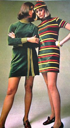 Seventeen Magazine, Vintage Ads, Teen Fashion, Green Fields, Boho, Mini Dresses, 1950s, Clothes, Illustration