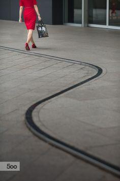 Photo Lady in Red by RazzRozzfaisal Razalli on 500px