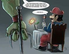 TMNT Vs Mario #Gamer #Nintendo