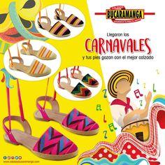 En #Carnavales ante todo lo que debe primar es la comodidad. Por eso hoy Calzado Bucaramanga te recomienda los mejores #calzados para que disfrutes el #Carnaval de pies a cabeza     http://www.calzadobucaramanga.com/web/comodidad_zapatos_carnaval_barranquilla/        www.calzadobucaramanga.com.co       webmaster@calzadobucaramanga.com.co