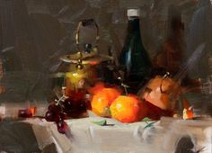 Demo at Montreal 2015 1 --- Sold, painting by artist Qiang Huang