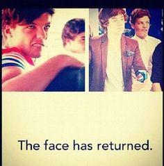 The face has returned hahahaha.. I love that face!!