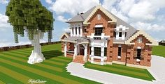 French Country Home | Minecraft House Design