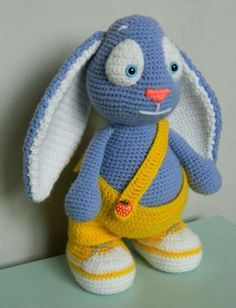 Bunny Amigurumi Step-by-Step Tutorial