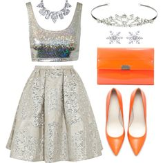 """""""Silver Belle"""" by ivansyd on Polyvore"""