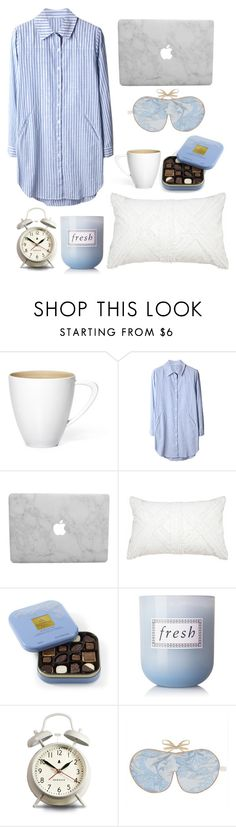 """let's stay in bed"" by bechs ❤ liked on Polyvore featuring Bandhini Homewear Design, Fresh, Newgate, women's clothing, women, female, woman, misses and juniors"