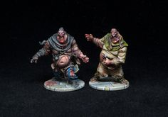 I have finished painting my Zombicide: Black Plague models. This project was a bit challenging for me: basically, I'm getting tired of painting gaming models… I love painting, and I rea… Love Painting, Figure Painting, Zombicide Black Plague, Paint Games, Vampire Counts, Warhammer Fantasy, Mini Paintings, Figure Model, Painting Inspiration