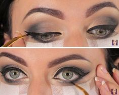 How to Create the Perfect Winged Liner   How To Do Smokey Eyes | Makeup Tutorials http://makeuptutorials.com/smokey-eyes-step-by-step