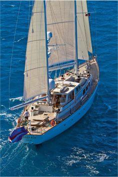New England Luxury yacht charters on Sailing yacht GALILEO