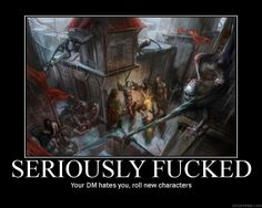 If half the party didn't have wands of healing or if the fifth level barbarian hadn't gone first...TPK!