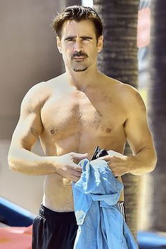 Colin Farrell Shirtless In Hollywood | Radar Online