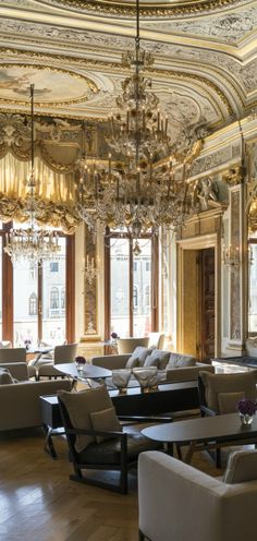 The Aman Venice - Ideally located on the Grand Canal in a beautifully converted 16th-century palazzo, this lavish heritage hotel attracts distinguished guests from around the world with its ornate frescoes, gilded ceilings and treasured works of art.