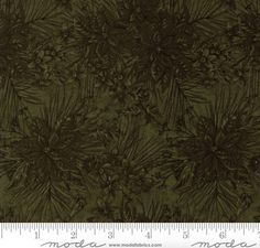 108 Wide Forever Green Pine Quilt Back