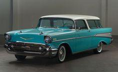 1957 Chevrolet Bel Air Nomad retro stationwagon h Chevrolet Bel Air, 1957 Chevy Bel Air, Chevy Classic, Classic Cars, My Dream Car, Dream Cars, Chevy Nomad, Buick Roadmaster, Unique Cars
