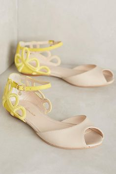 Guilhermina Lys Flats #anthropologie #anthrofave