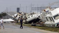 After Hurricane Ike In Galveston << 2008