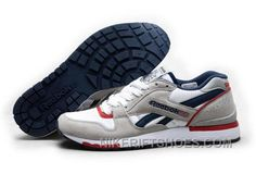 07012976e61c8 Reebok GL6000 Womens Classic Running Grey Deepblue Red Super Deals 5zFHS