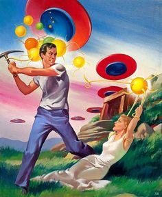 1953 ... attack of killer gum-balls!
