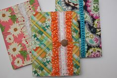 journals to make  fabric covered