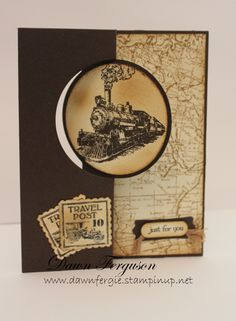 Mail Train – Traveler Stamp Set by Stampin' Up!