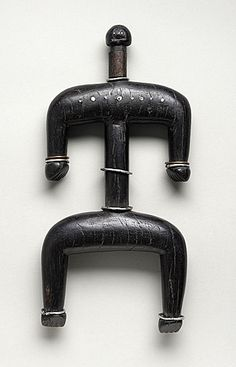 Africa | Doll from the Namchi people of Cameroon | 20th century | Sculpture, Wood, nails, metal, and fiber