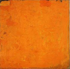 Robert Ryman, Untitled (Orange Painting), 1955-1959