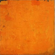 Robert Ryman, Untitled (Orange Painting), 1955-1959