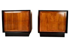 Modern Dillingham Side Tables, Pair