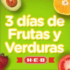 Ofertas de frutas y verduras en HEB Junio