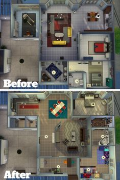 Remodel of 19 Culpepper House   SimsVIP   Sims house, Sims ...