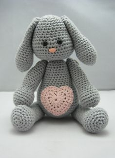 Sweet Bunny (Instant download Amigurumi doll crochet pattern pdf)