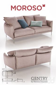 3d модели: Диваны - Moroso Gentry GE0599 Sofa