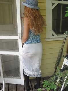 foto de 1000+ images about Half slips on Pinterest White slip Nylons and Image fb