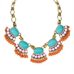 Troy Designs Juniors Multi Jewel Statement Necklace | from Von Maur #VonMaur #Boho #Colorful
