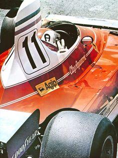 1975 Ferrari 312T, Clay Regazzoni