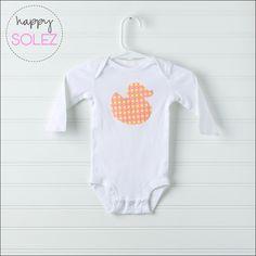 Baby Duckie Onesie (0-3 months)